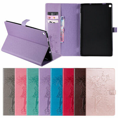 For Amazon Kindle Fire HD 10 2017 7th Gen Magnetic Leather Stand Tablet Case ()