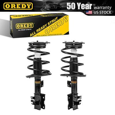 OREDY Front Pair Struts & Coil Spring Assembly For Nissan Altima Hybrid 07-11