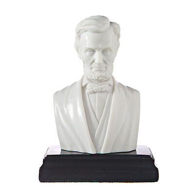 American President Abraham Lincoln Marble Bust / Statue / Sculpture 5.3'' white, used for sale  Shipping to Canada