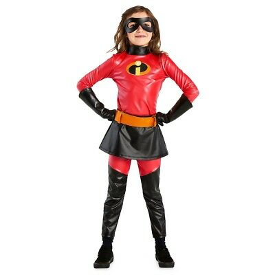 DISNEY STORE Incredibles 2 Violet COSTUME For Kids size 7/8 FREE SHIPPING