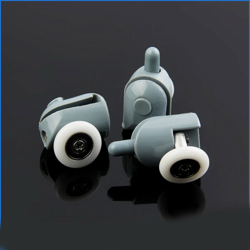 8 Pcs Twin Bottom Shower Glass Door Rollers//Runners//Sliders//Wheels 25mm Diameter