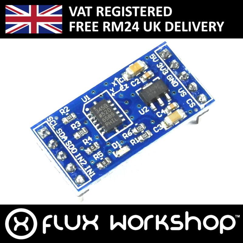 3pcs ADXL345 3 Axis Accelerometer Module I2C SPI Motion Arduino Pi Flux Workshop