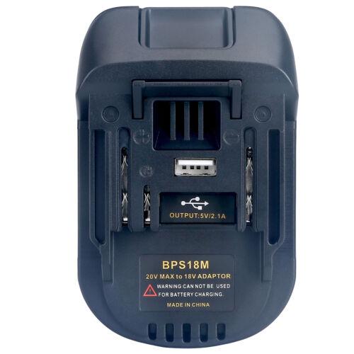 USB Battery Adapter BLACK&DECKER/ PORTER-CABLE/ STANLEY 20V