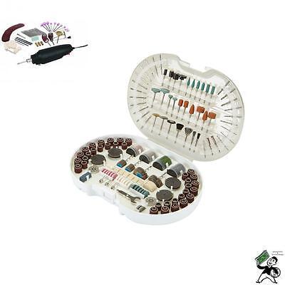 356Pc Magazine Rotary Tool Kits Craft Drill Grind Jewelry Cut Metal Dremel Bit