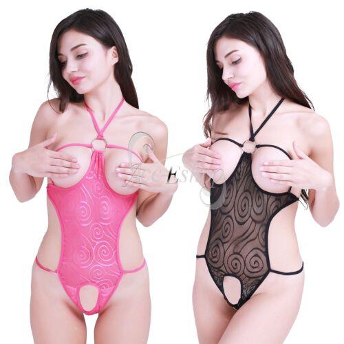 Sexy Women s Lingerie Open Bust Crotch Mesh Dress Babydoll Sleepwear  Underwear USD 1.99 6670e61b4