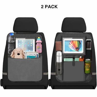 2 x Car Seat Back Multi-Pocket Storage Bag Tidy Organiser Cool Hot...