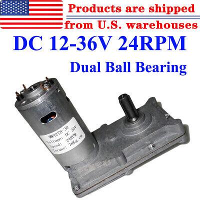 12v 24v 36v Reversible Metal Gearbox Motor Dc Gear Motor High Rpm Low Noise Ig