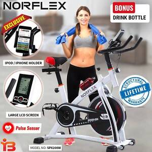 New Gym Cycle Spin Bike for Indoor Workout By NORFLX Fairfield Fairfield Area Preview