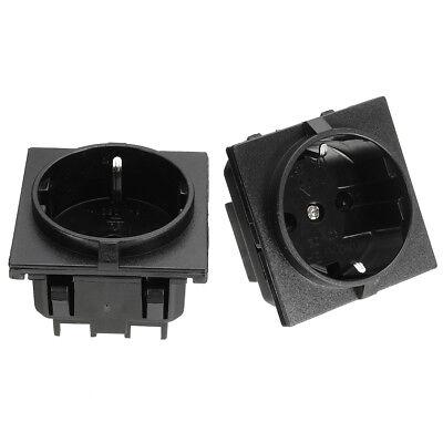 16A European EU German Standard Power Outlet Single Plug Wall Socket Waterproof 16a Single Outlet