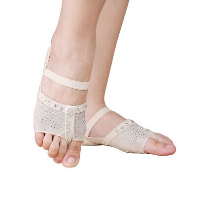 Belly Dance Foot Thong Toe Pad Ballet Train Paw Cover Half Sole Sock Protector
