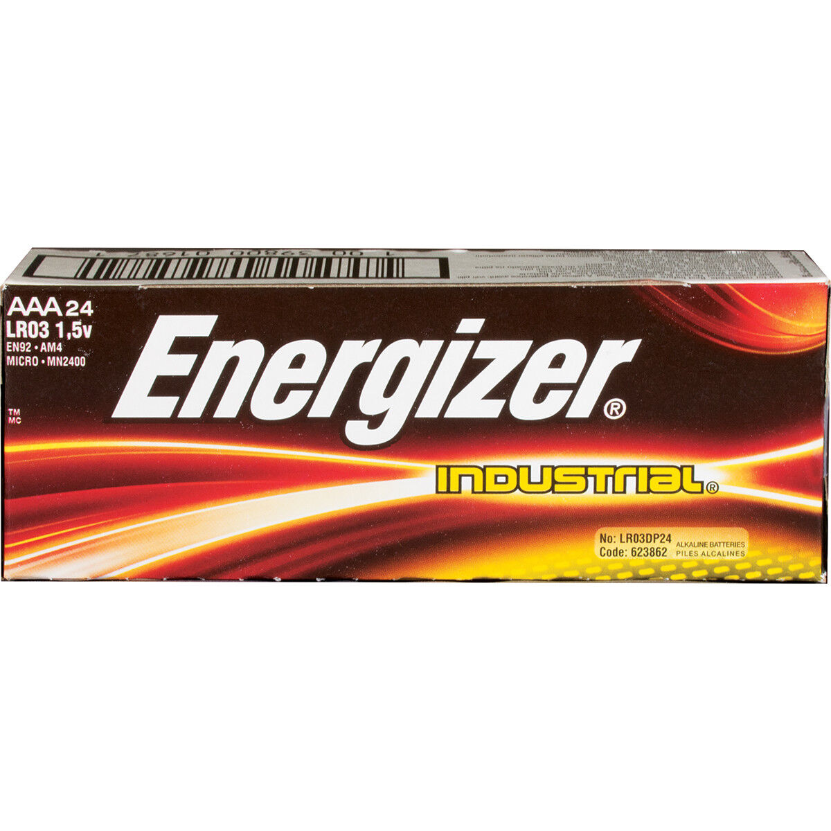 industrial en92 aaa batteries 24 pack