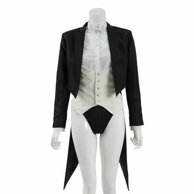 DC Comics Zatanna Zatara Cosplay Costume Superhero Suit Women Magician