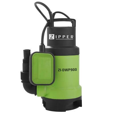 Pump water dirty ZIPPER ZI-DWP900 14300 litres / h 900W switch floating