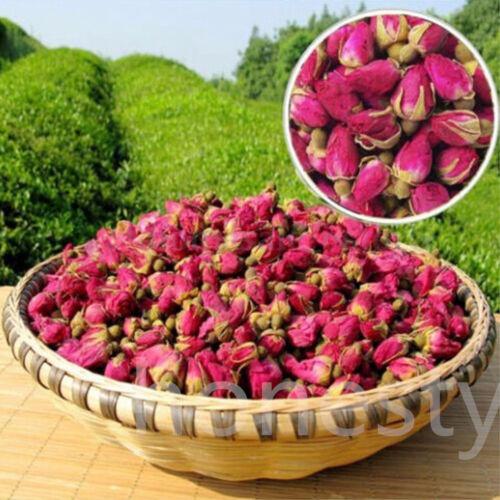 100g Bio Rosebud Rose Knospen Blume Blumen Kräuter Getrocknet Gesundheits Tee