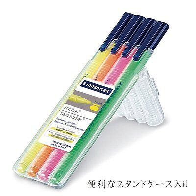 Staedtler Triplus Textsurfer Gel 4-color Highlighters Set 362 Sb4