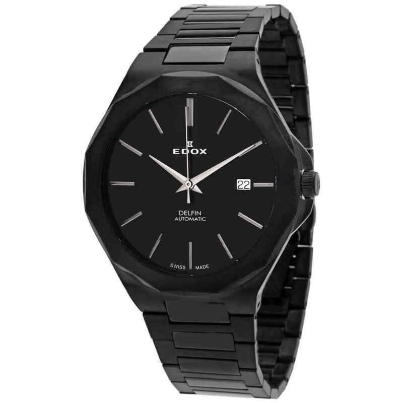 Edox-Automatic-Black-Dial-Men-Watch-80117-37NM-NIG