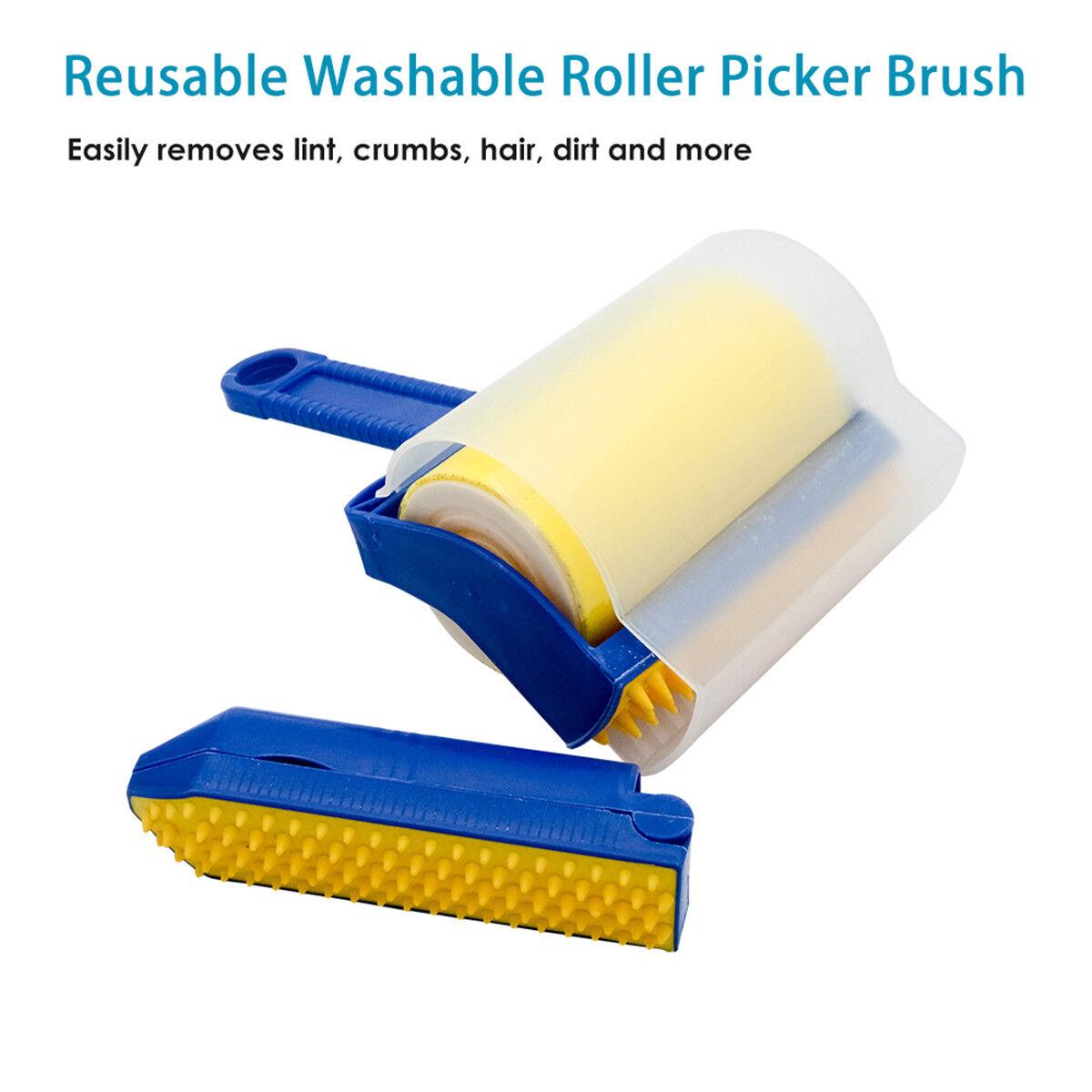 Lint Brush Remover Cleaner Brush Reuseable Roller Fabric Hair Fur Dust Pet