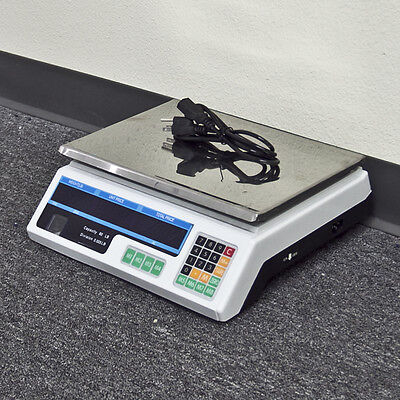 New Computing 60lb Digital Electronic Scale Price Deli Food Produce Counting