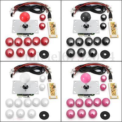 New Arcade DIY Kits Parts USB Encoder To PC China Sanwa Joystick & China Buttons