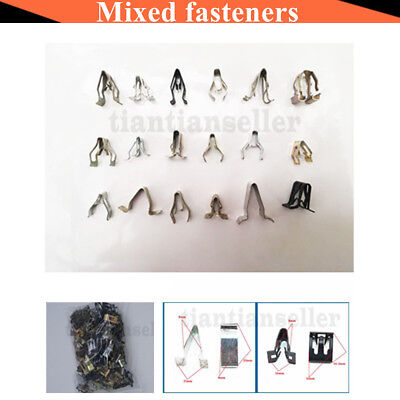 100 x Universal Mixed Auto Fastener for All Cars Audio  CDCenter Console Panel