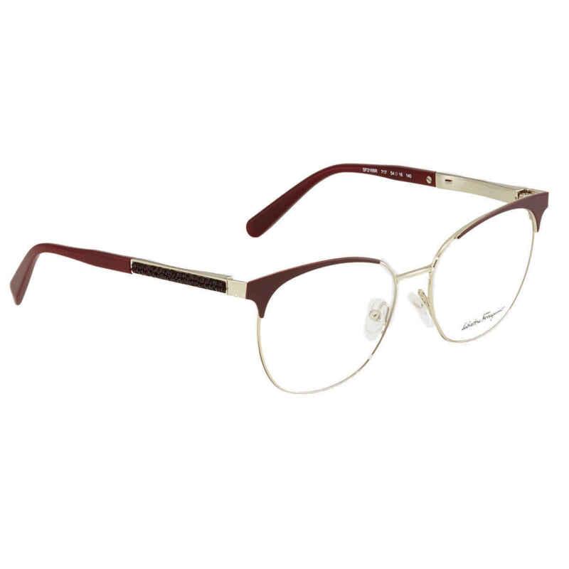 Salvatore Ferragamo Ladies Eyeglasses SF2166R 717 54 SF2166R 717 54