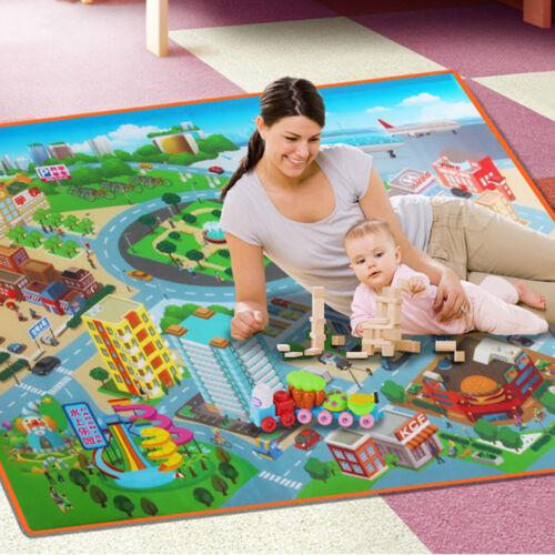 Baby Kids Play Mat Foam Floor Child Activity Soft Toy Gym Cr