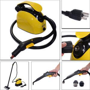 1500W Portable Pressure Steam Cleaner Carpet Bathroom Professional Multi Purpose