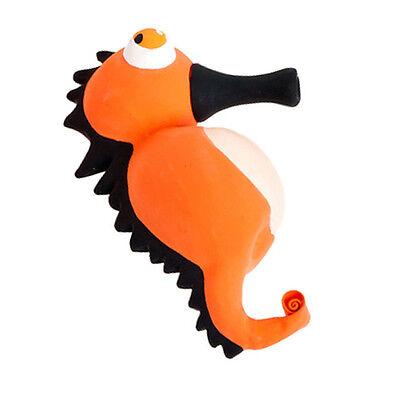 Hundespielzeug, Karlie Latex Pop-Up Seepferd mit Quietscher und Effekt