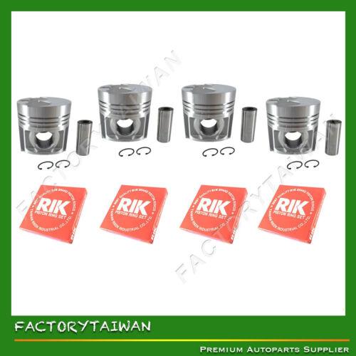 Ring Kit Set STD 105mm for Kubota V4000 Factorytaiwan Piston 15451-21110 X 4 PCS