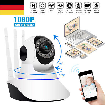 Wireless WIFI IP Kamera 1080P Überwachungskamera Webcam Wlan Camera Nachtsicht Wifi-ip-kamera