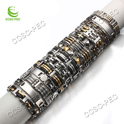 14pcs Mix STAINLESS STEEL Wholesale Bulk Lot Fashion Rubber Link Chain - Rubber Bracelets Bulk