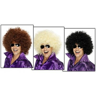 Big Afro Wig Adult 70s Disco Halloween Costume Fancy Dress (70s Wigs)