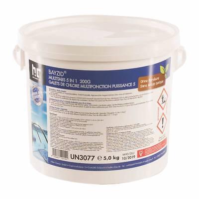 5 kg Multitabs 200G 5In1 Chlortabletten Multifunktion Tabs Chlor für Pool Blue