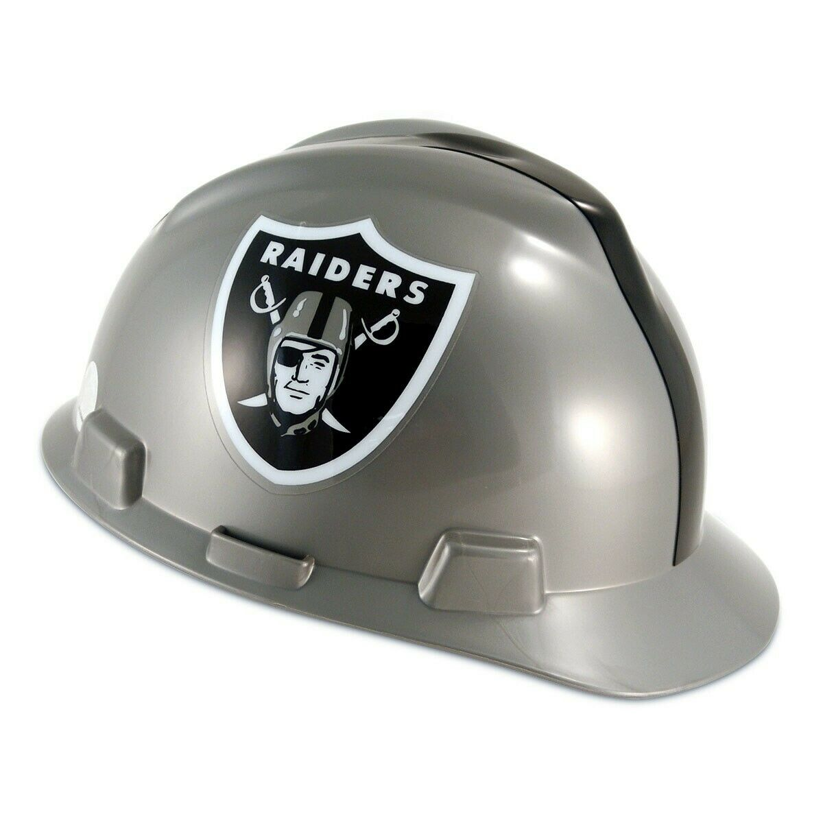 MSA 818405 V-Gard NFL Cap Style Hard Hat – Oakland Raiders Business & Industrial