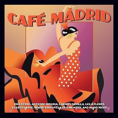 Cafe Madrid VARIOUS ARTISTS Best Of 50 Songs MUSIC COLLECTION New Sealed 2