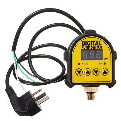 Automatic Digital Pressure Switch Controller Onoff 220v For Water Air Gas Pump