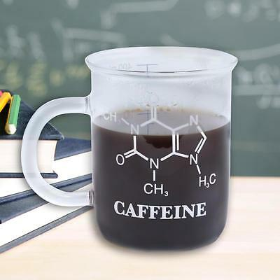 Chemistry mug caffeine molecule science measuring beaker for Perfect drink pro scale