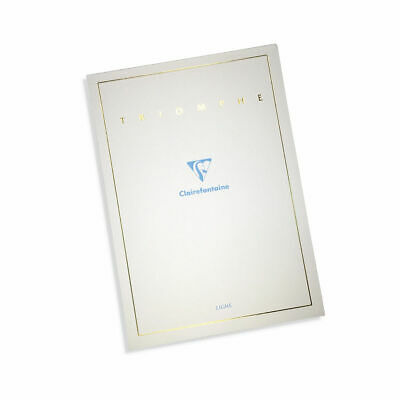 Clairefontaine Triomphe Writing Pad 6120 - 90g - A5 - 5.85x8.25 - Blank - 50s