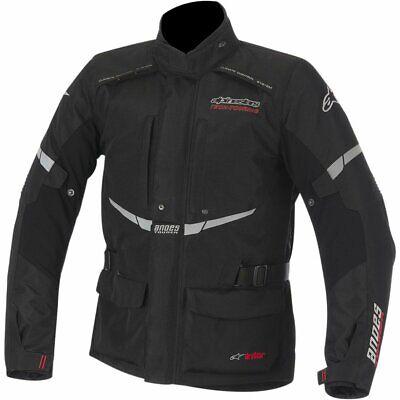 ALPINESTARS ANDES Drystar Touring Motorcycle Jacket (Black)  SIZE- - Touring Drystar Jacket