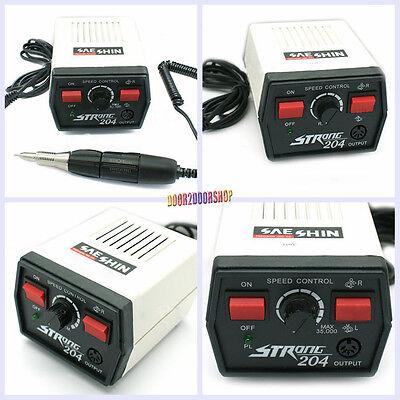 Saeshin 35000 Rpm Saeshin Strong 204 Micro Motor 102 Polishing Handpiece 110v