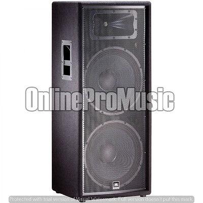 """JBL JRX225 Dual 15-inch 2-way Passive PA DJ Speaker Two 15"""" LF Drivers and 1"""" HF"""