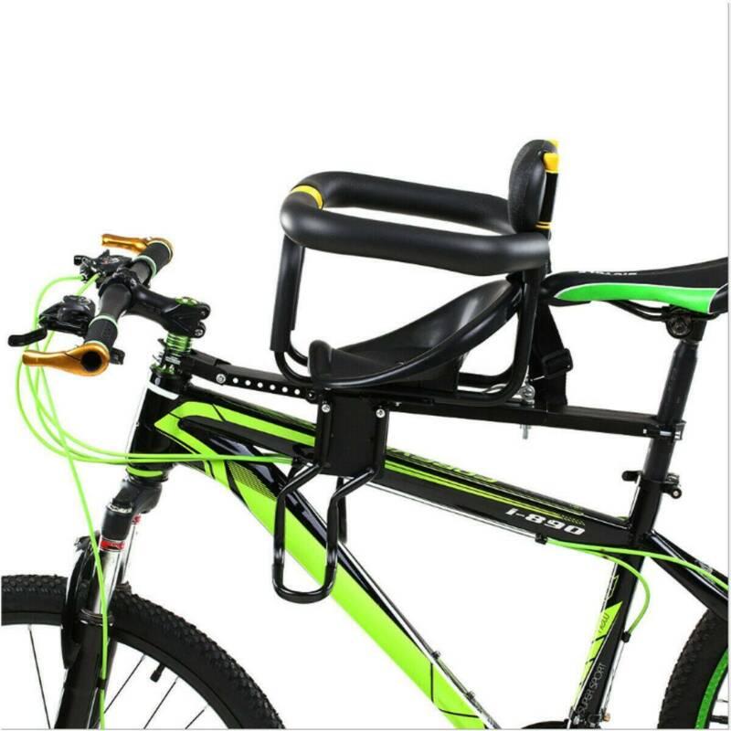 Safe Child Bicycle Seat Bike Front Baby Seat Kids Saddle w/