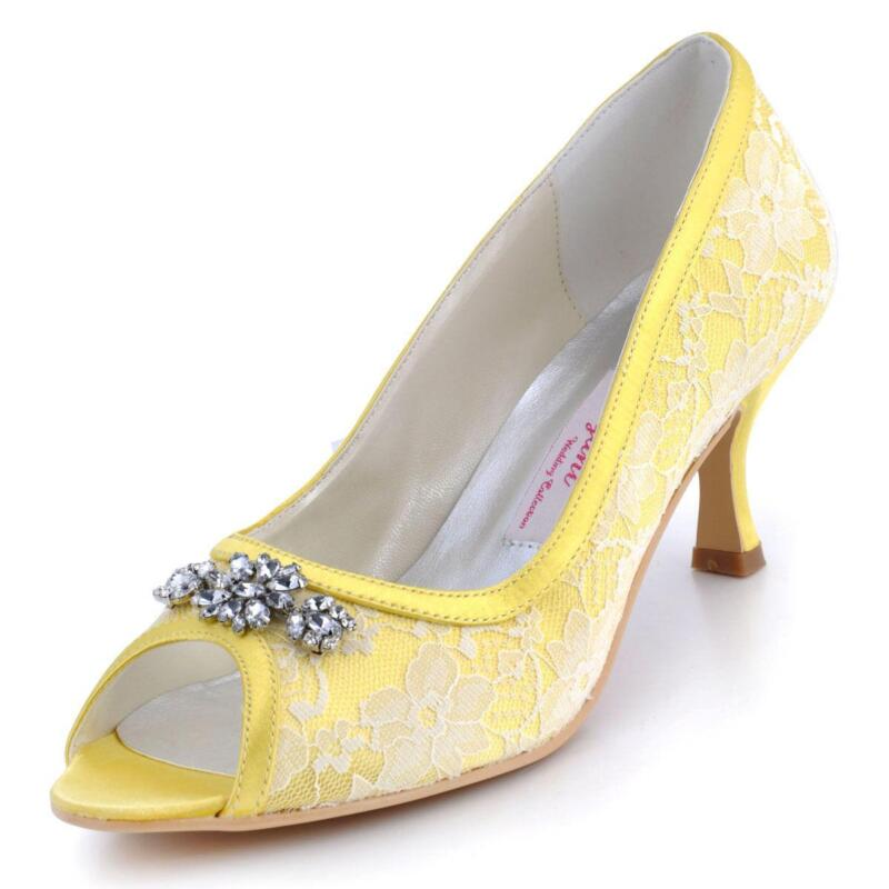 yellow wedding shoes ebay