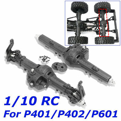 US Front Rear Gear Box Set for 1/10 Axle HG P401/P402/P601 Crawler RC Car  ❤ ()