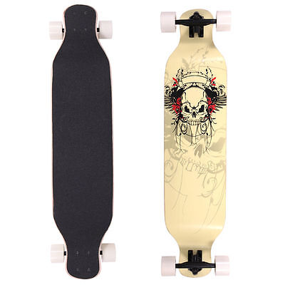 "Professional Longboard Skateboard 41"" X 9-1/2"" Cruiser Through Downhill Complete"