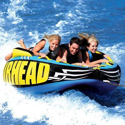 Ski Deck Boat - Airhead Outrigger Towable Inflatable Deck Ski Boat Tube