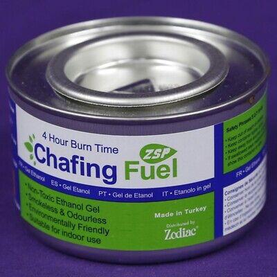 Ethanol Fuel Chafer Gel Single Paraffin Greenhouse Heater 2.5 Hour Can Zodiac