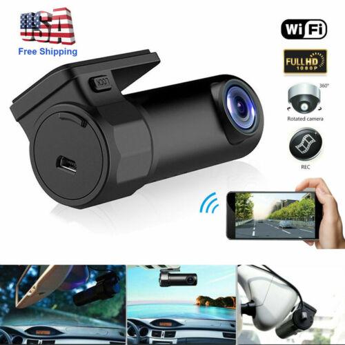 1080P HD DVR Dash Hidden Car Camera Cam Recorder With WiFi G
