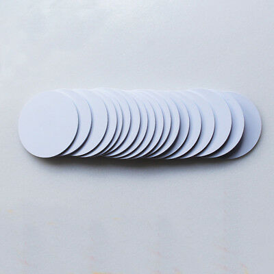 100Pcs RFID Tags Stickers 125KHZ 25mm EM4100 Adhesive Lable Cards for Access