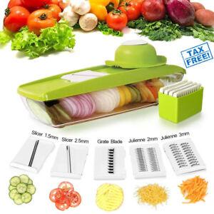 Mandoline Slicer Set Vegetables Fruits Mandolin Cutter Piece Straight Julienne